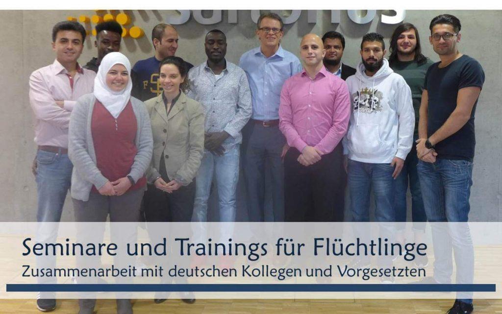 Interkulturelles Training für Flüchtlinge