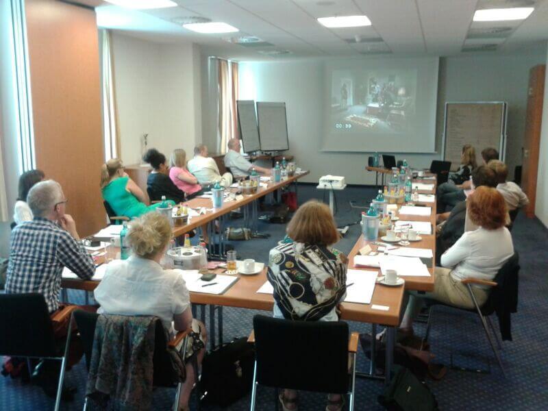 In-house Seminar beim Kunden mit Leiter Gerd Schneider