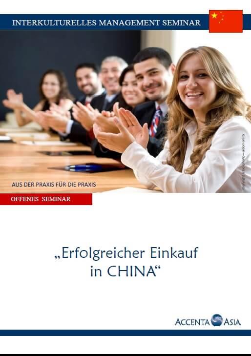 Interkulturelles China Einkauf Seminar