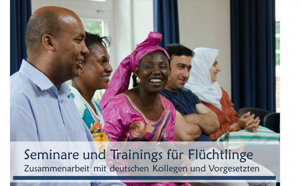 Interkulturelle Trainings für Flüchtlinge